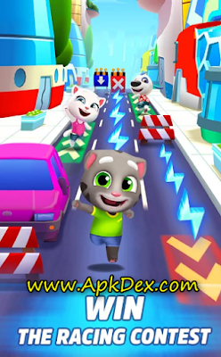 Talking Tom Gold Run 3D Game Mod Apk
