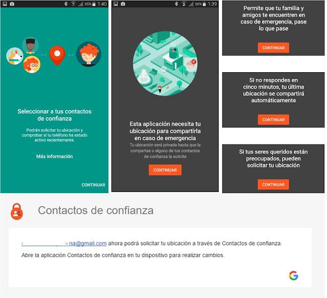 Pasos para Instalar Nueva Aplicación de Google Contactos de Confianza para Localizar a Tus Familiares o Amigos