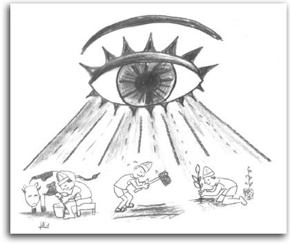 האגודה השיתופית, איור: ניצן בן משה גלנטי