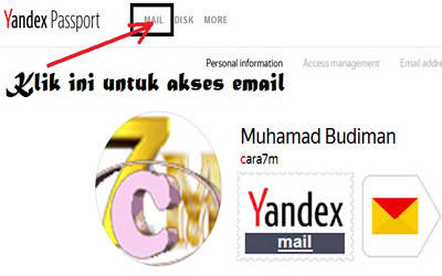 Cara Terbaru Mendaftar/Membuat Email Yandex