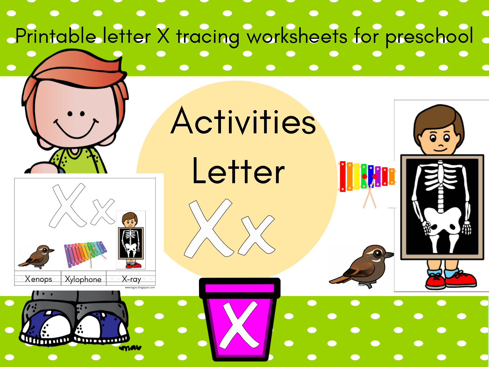 الحروف الانجليزية حرف X