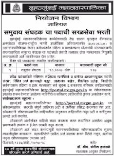 BrihanMumbai Mahanagarpalika Community Organizer Jobs (www.govtjobonline.in).png