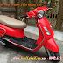 Sơn xe máy Attila Elizabeth màu đỏ zin cực đẹp
