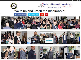 Photos: Society of Internet Professionals Launch of SIPTalks: Wake up and Smell the BlockChain! January 25, 2018 at ThatChannel, Toronto