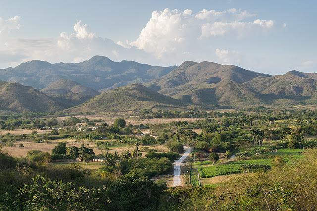 La montagnes de la Sierra del Escambray près de Trinidad (Cuba)
