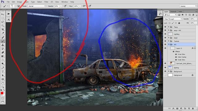 31 Tutorial Photoshop Dramatic Manipulation WAR part 2