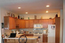 How to Replace Fluorescent Light Fixture in Kitchen Soffit Lighting