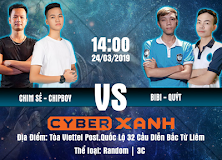 Khai trương Cyber Xanh Esport Stadium: Chim Sẻ, Chip Boy quyết đấu cùng BiBi, Cam Quýt!