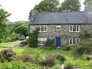 The farmhouse at Ffald-y-Brenin