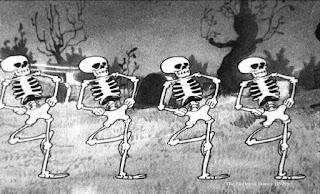 'El baile de los esqueletos' (1929, Walt Disney)
