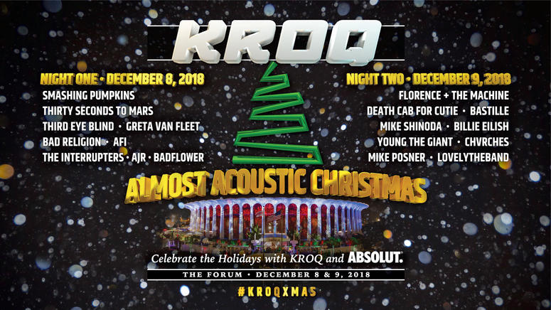 Kroq Almost Acoustic Christmas 2020 Pre Sales | Mqnfqp.new2020year