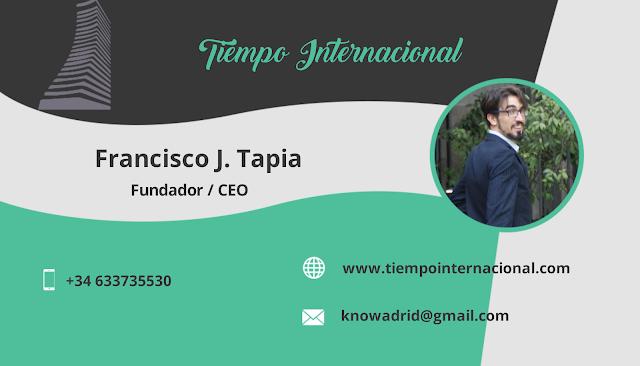 Francisco J. Tapia - Tiempo Internacional