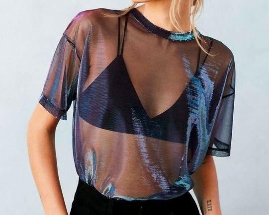 TREND: Transparentne ubrania - jak nosić?