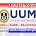 Job Vacancy at UUM - Universiti Utara Malaysia