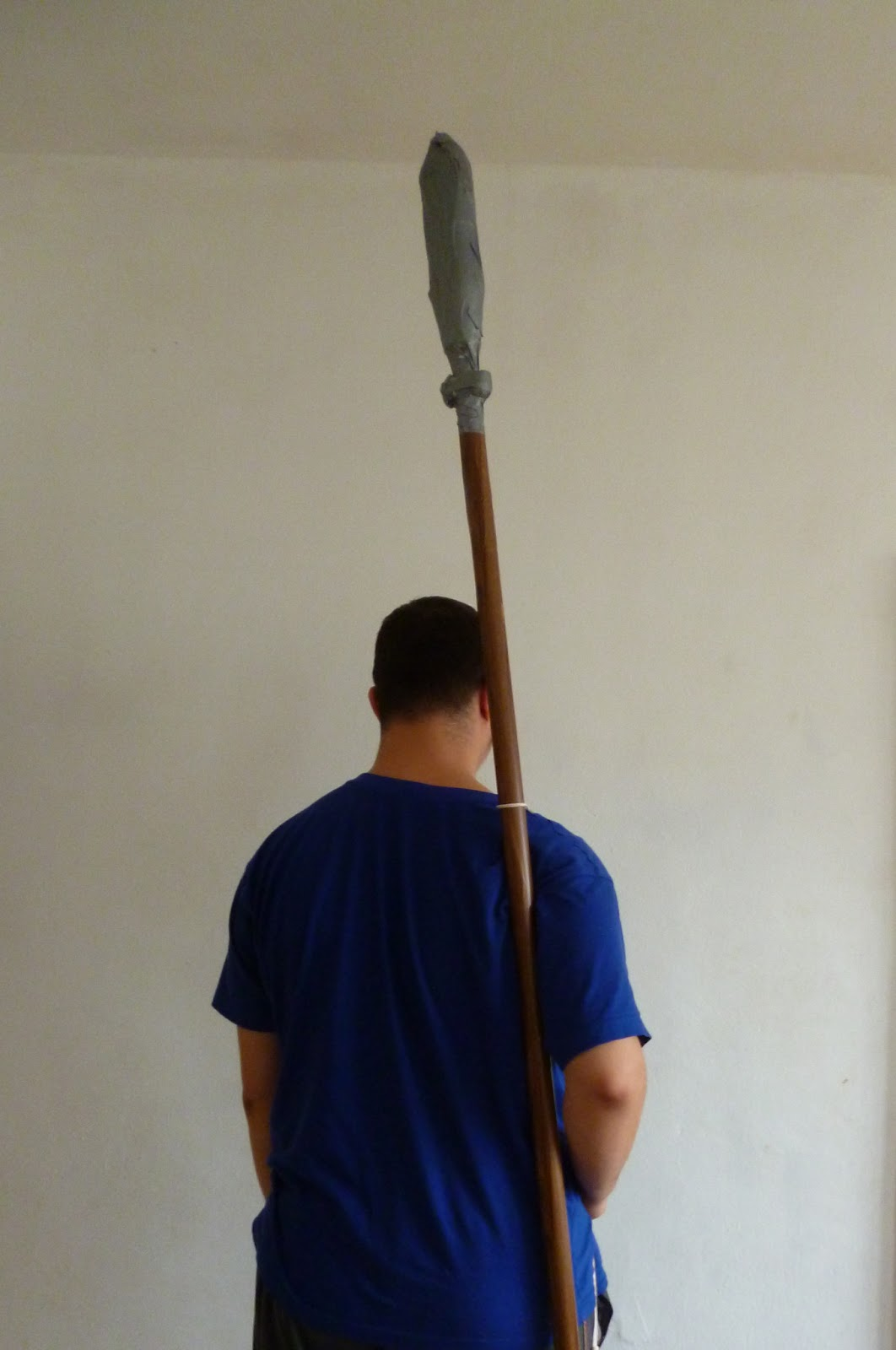 Buskador's LARP: How to make a larp spear shoulder strap