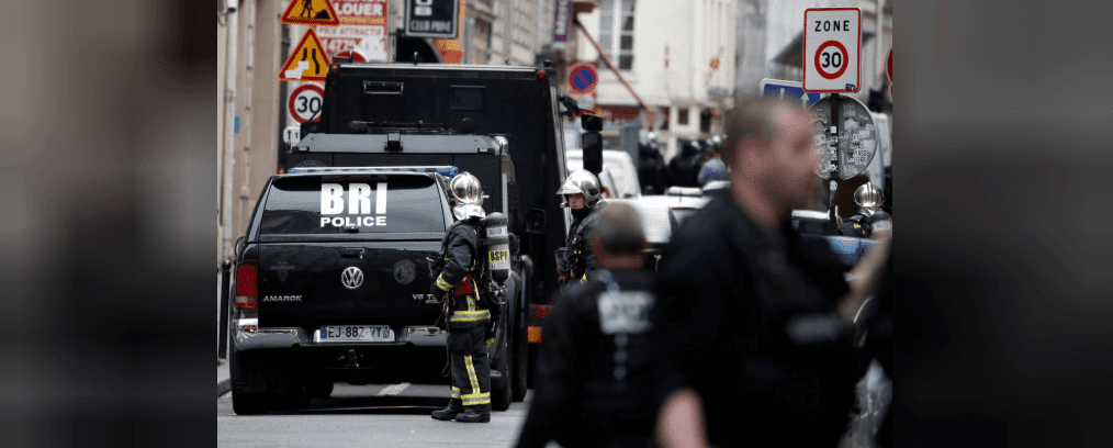 Hostage circumstance unfurling in Paris | Man holds two people hostage in Paris: police