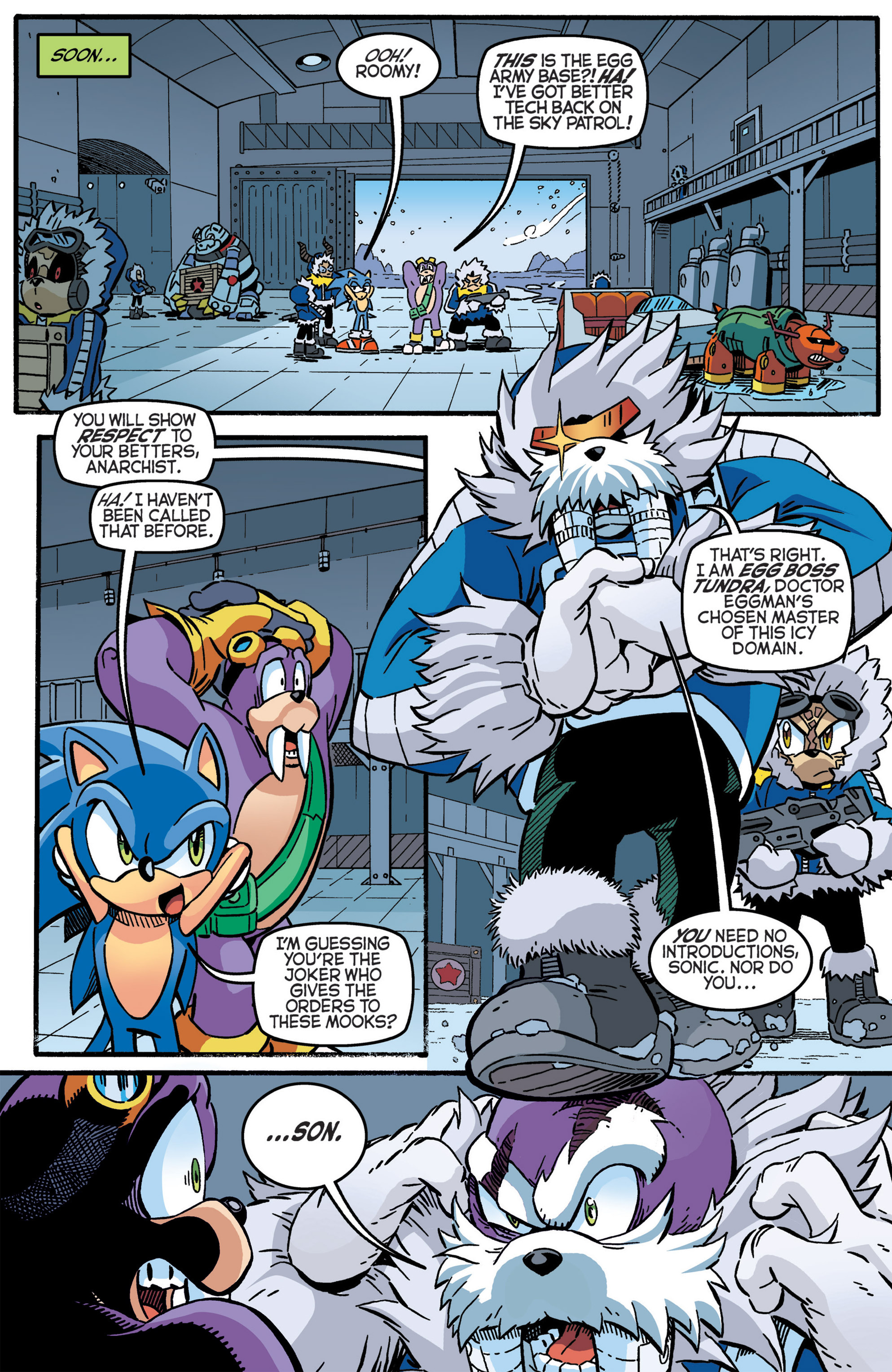 Read online Sonic The Hedgehog comic -  Issue #276 - 5