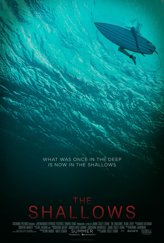 Estrelado por Blake Lively, Águas Rasas vai trazer de volta o medo de tubarões aos cinemas