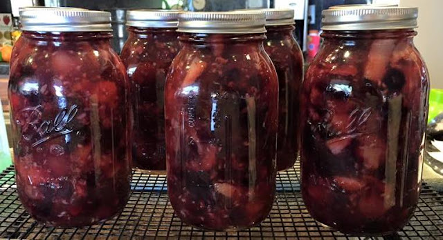 Canning pie filling