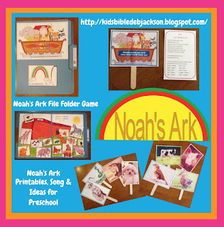http://kidsbibledebjackson.blogspot.com/2012/10/noahs-ark-for-preschool.html