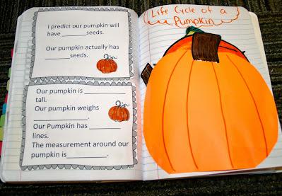 pumpkin interactive notebook