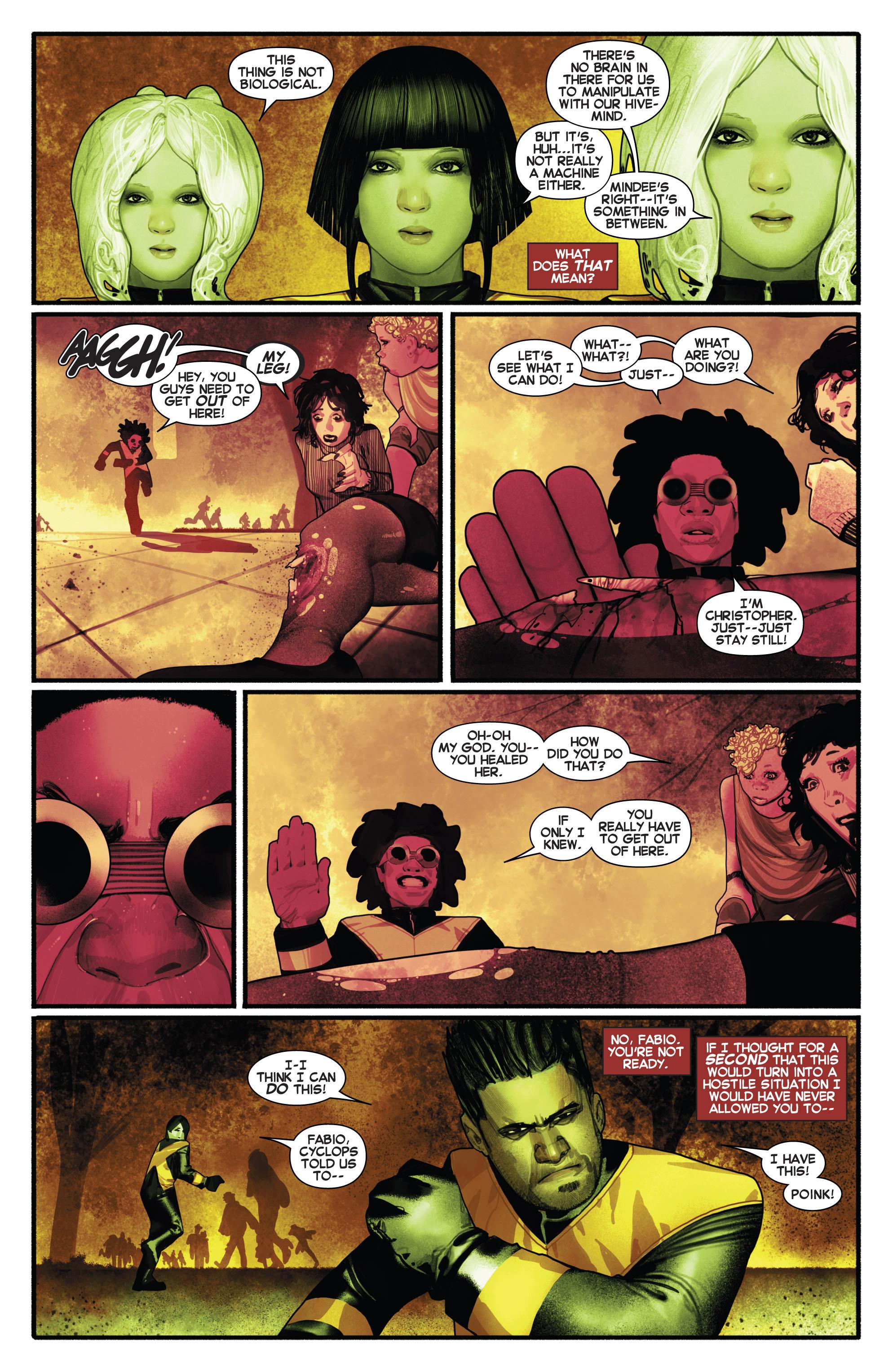 Read online Uncanny X-Men (2013) comic -  Issue # _TPB 2 - Broken - 103