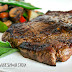Organic Sirloin Steak with Salad