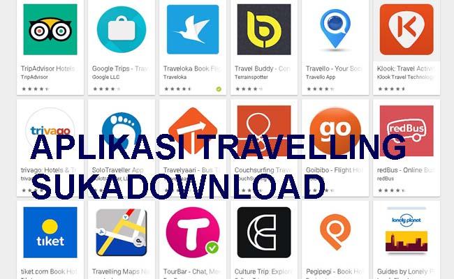 aplikasi travelling
