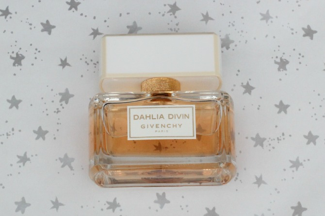 Givenchy Dahlia Divin perfume bottle