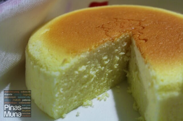 Japanese Cheesecake at Uncle Testu Philippines