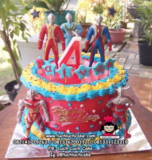 Kue Tart Ulang Tahun Ultraman
