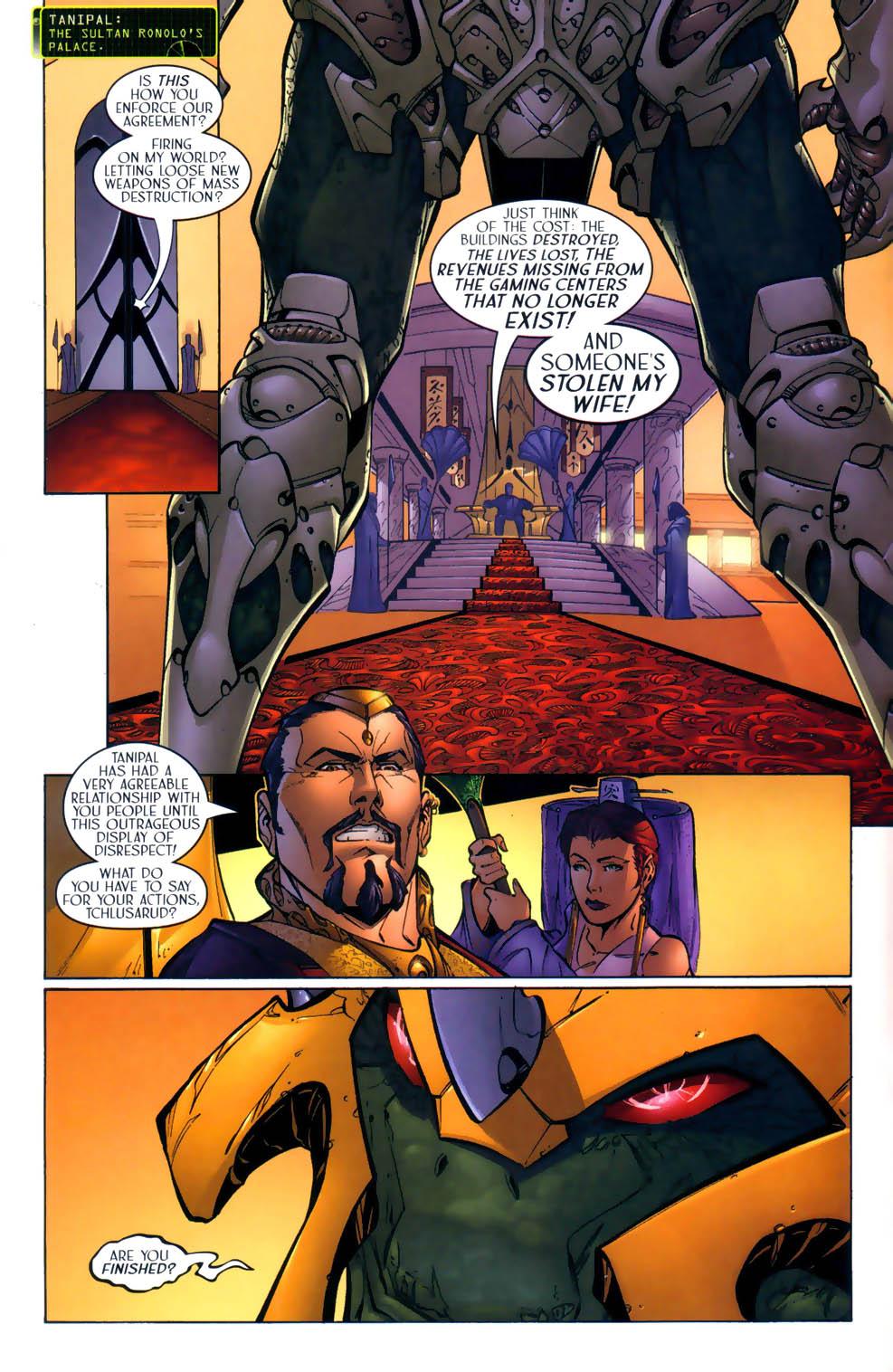 Read online Sigil (2000) comic -  Issue #2 - 13