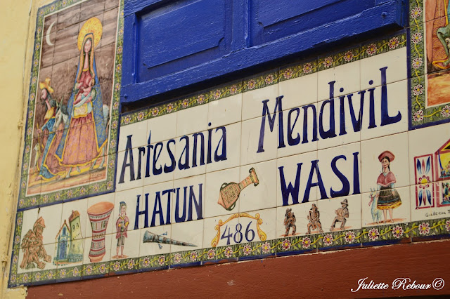Marché artisanal de Cusco