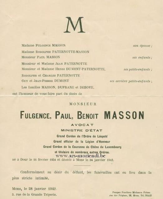 Fulgence Paul Benoît Masson