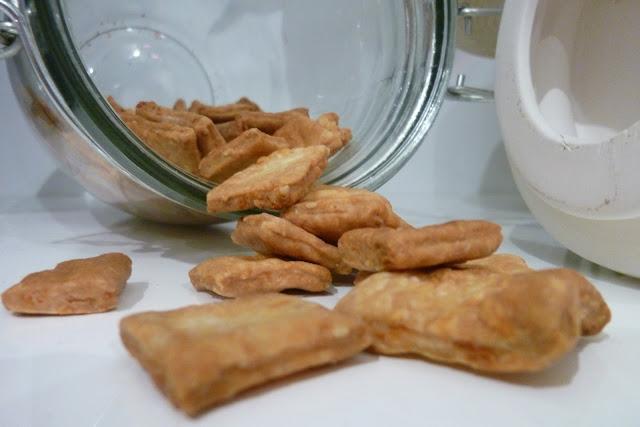 crackers fait maison pour l'apéritif