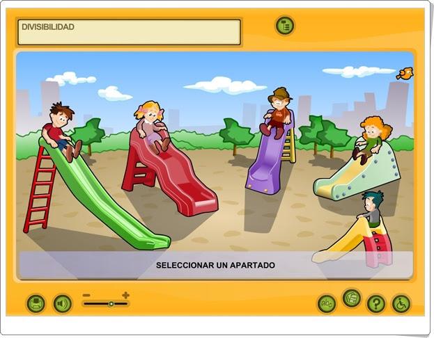 """""""Divisibilidad"""" (Aplicación interactiva de Matemáticas de Primaria)"""