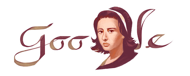 Faten Hamama's 85th birthday - Google Doodle