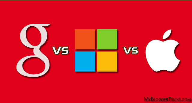 Google Now vs Microsoft Cortana vs Apple Siri