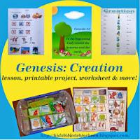 http://www.biblefunforkids.com/2013/06/genesis-series-creation.html