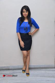 Actress Nandita Swetha Stills in Black Mini Skirt at Ekkadiki Potavu Chinnavada Movie Special Show  0056.JPG