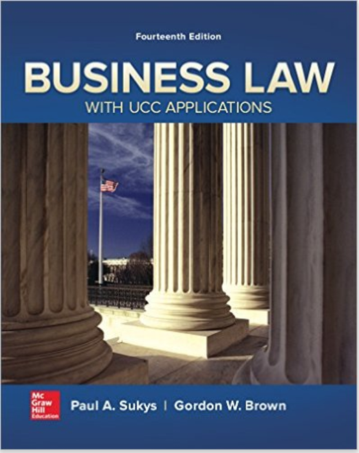 Business Law I Essentials
