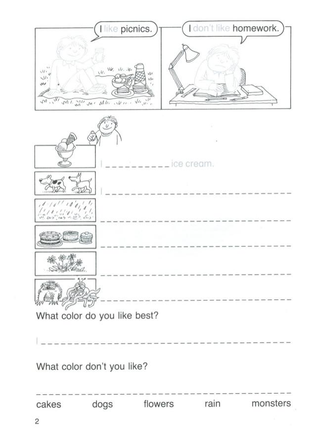 Atividades de Inglês para Criança