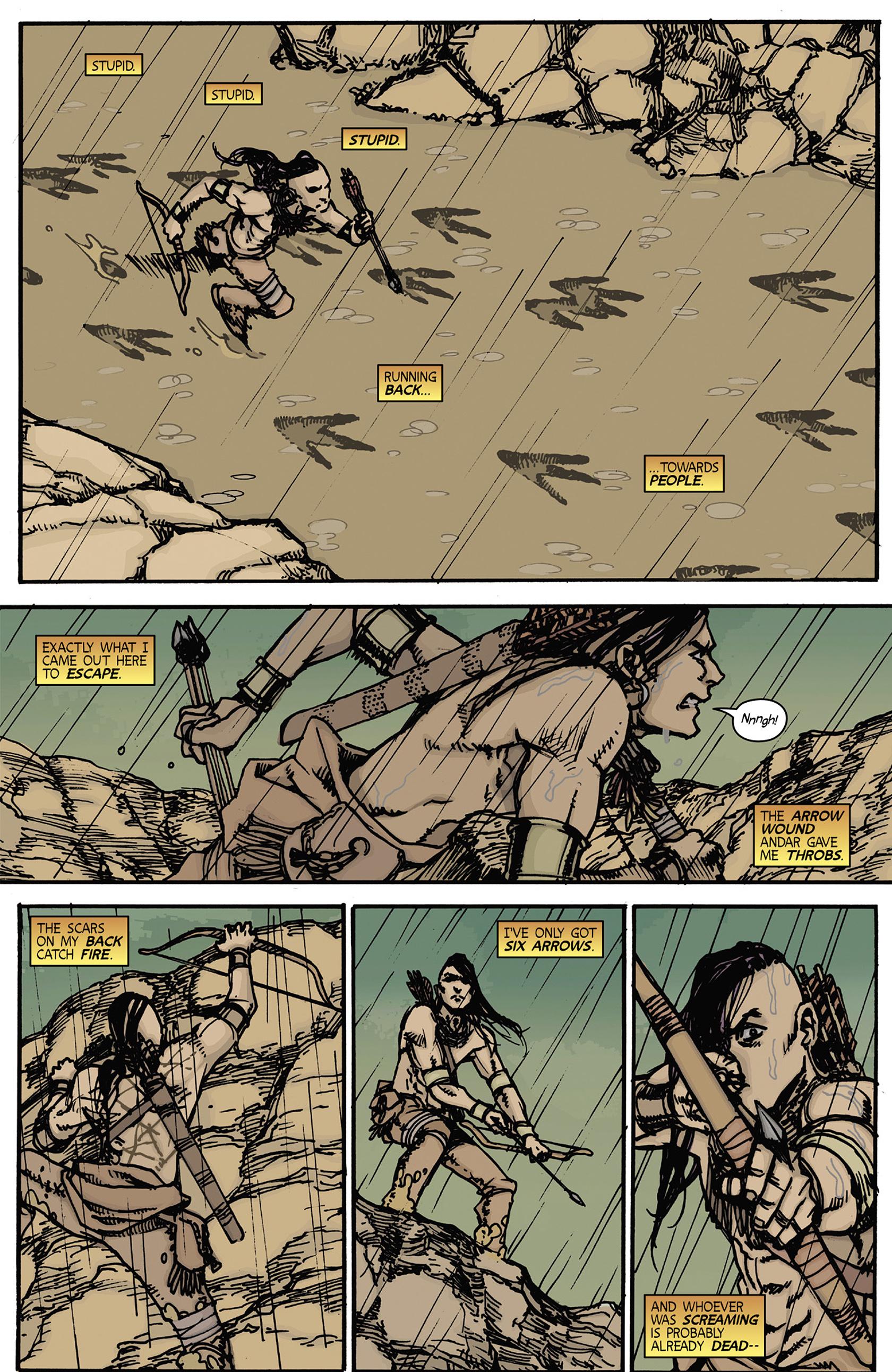 Read online Turok: Dinosaur Hunter (2014) comic -  Issue #5 - 7