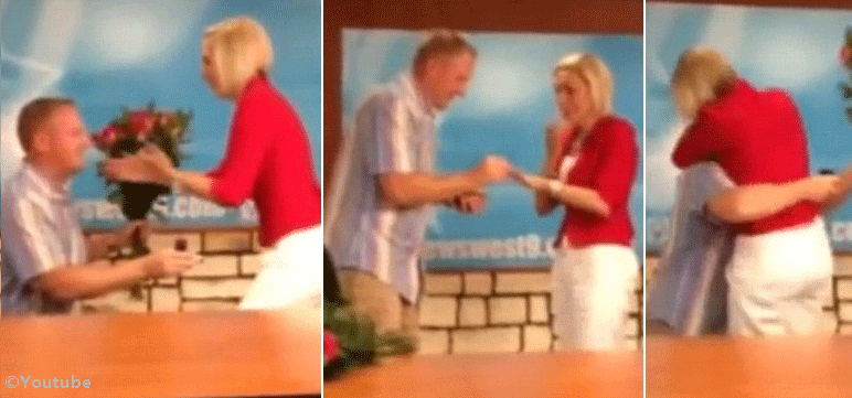 News Anchor Named Alexa Williams Shocked After Reading the Wedding Proposal Introduction by Wayne Dunson