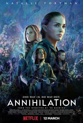 Película, cine, cartelera, Aniquilación, Annihilation, ciencia ficcion, nos vamos al cine,