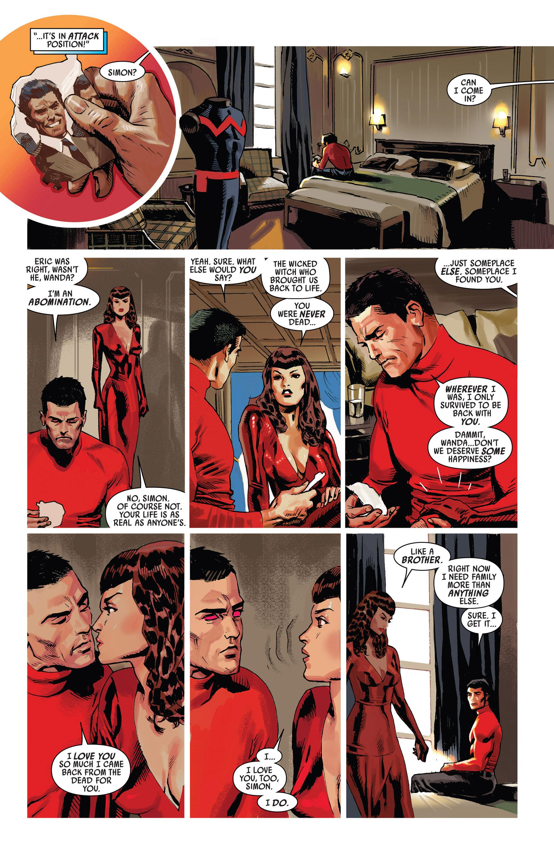 Read online Uncanny Avengers (2012) comic -  Issue #7 - 13