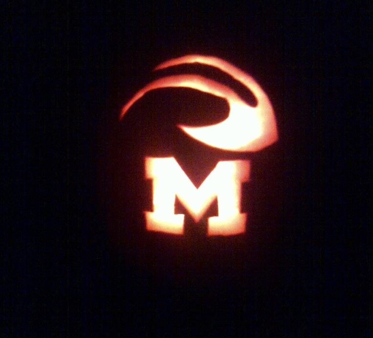 College football happy halloween from the mzone
