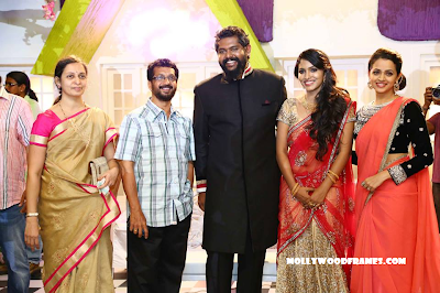 Bhavana in Jean Paul Lal's wedding party