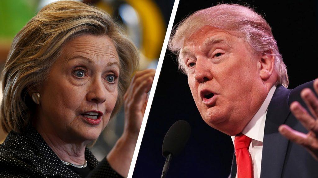 Polls trump vs Clinton