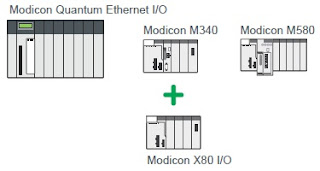 Standardize on the Modicon family with common X80 modules